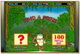 Игровые автоматы обезьянки - играть