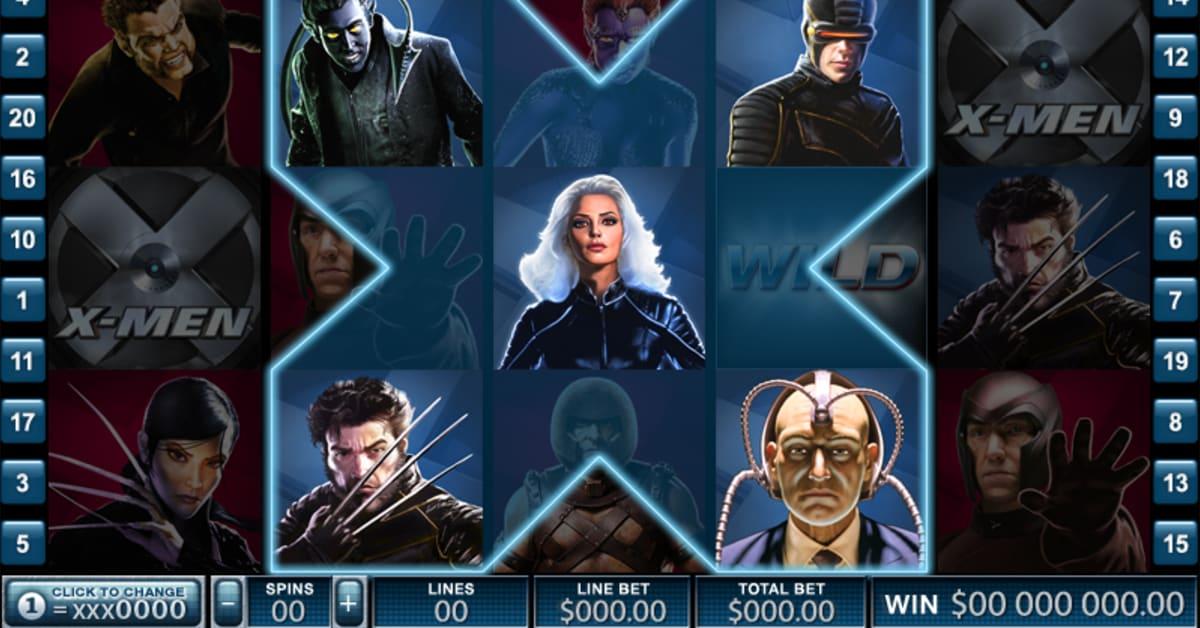 Игровые автоматы супер герои X-men онлайн