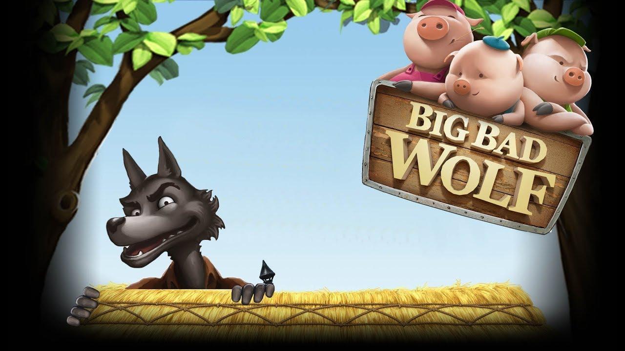 Big Bad Wolf - игровой автомат Три Поросенка играть бесплатно.