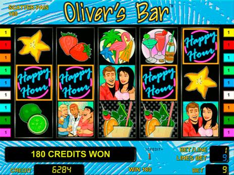 Olivers Bar — играть бесплатно в игровой автомат