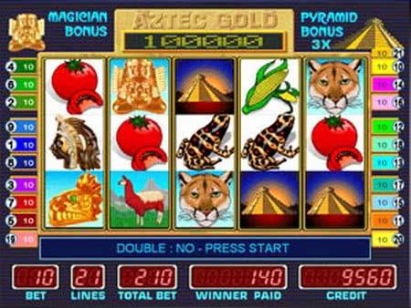Играть в слот Aztec Gold бесплатно без регистрации - Казино.