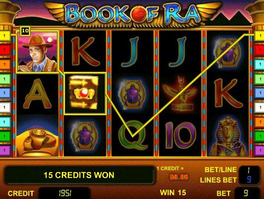 Игровой автомат Book of Ra Книга Ра играть в книжки ра.