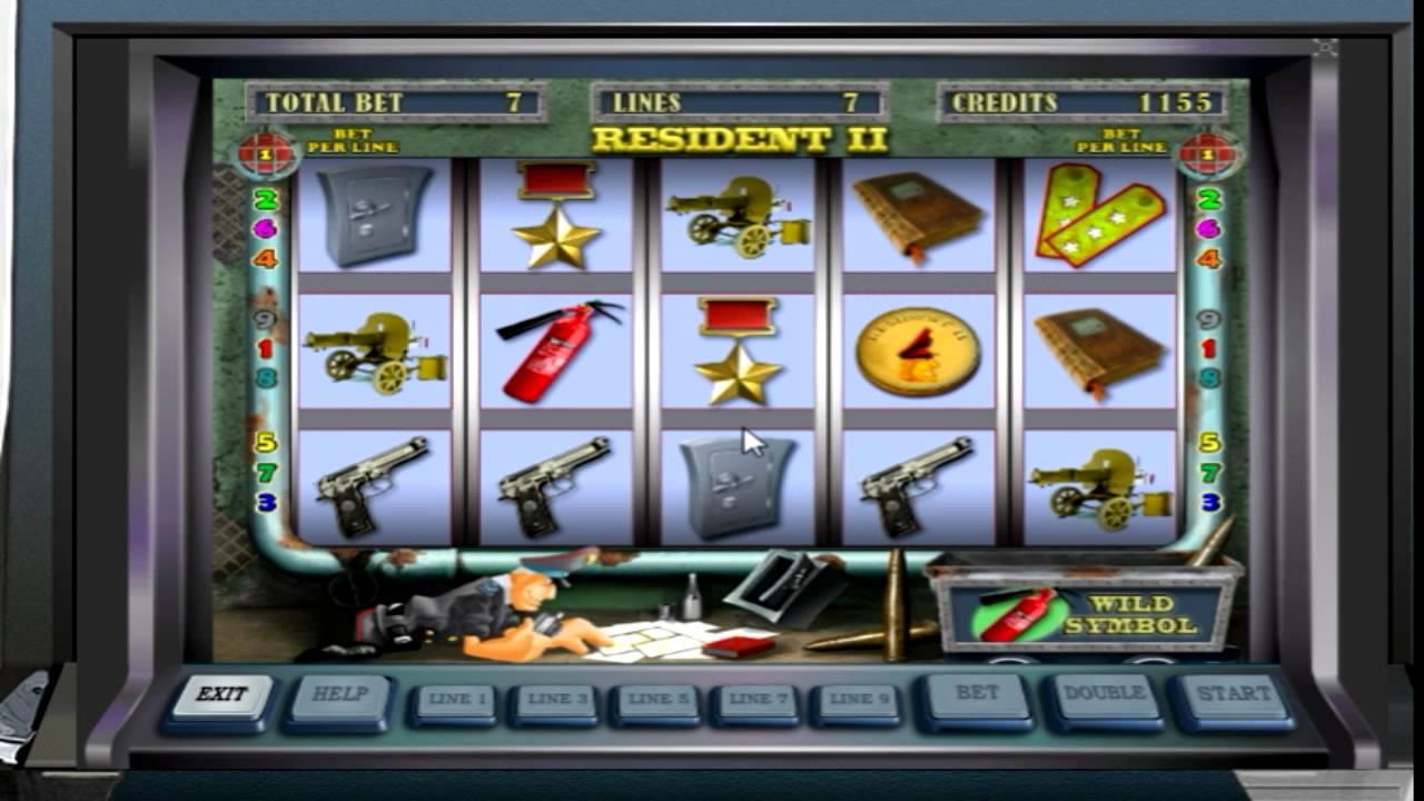 Игровые автоматы - Resident Резидент, Сейфы онлайн