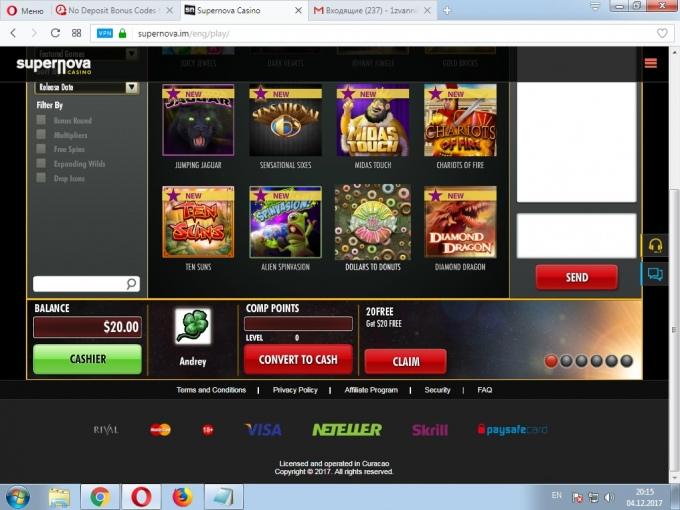 Free spins casino Получите фриспины в казино Netent 2019
