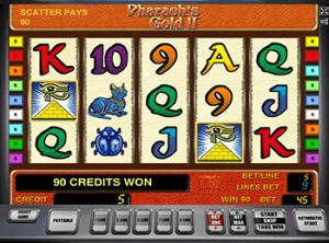 Слот бесплатно - Pharaohs Gold 2 приносит щедрые призы
