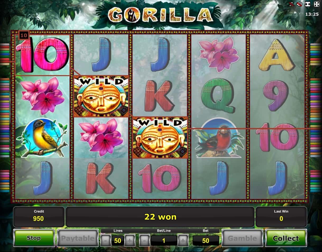 Gorilla игровой автомат – играть бесплатно онлайн в Горилла без.