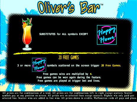 Игровые автоматы Оливер Бар Olivers Bar играть бесплатно