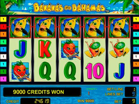 Онлайн игровые автоматы Bananas Go Bahamas – Бананы Едут На.