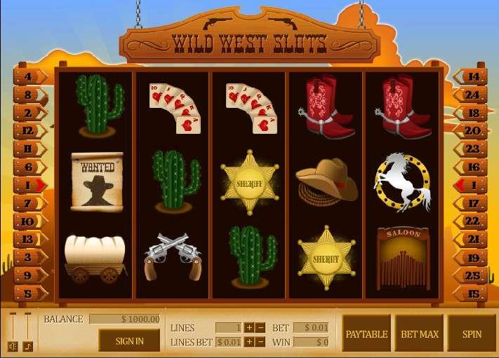 Wild Thing – игровой автомат традиционного типа