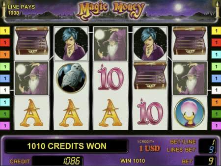 Magic Money - играть в автоматы Магия Денег