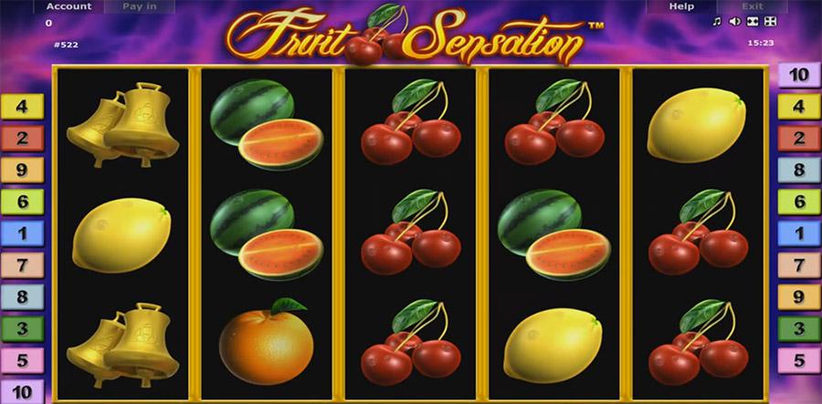 Бесплатные слоты Fruit Sensation от онлайн клуба Вулкан Удачи