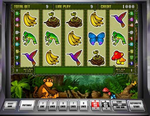 Crazy monkey Крейзи Манки, Обезьянки - Игровые автоматы