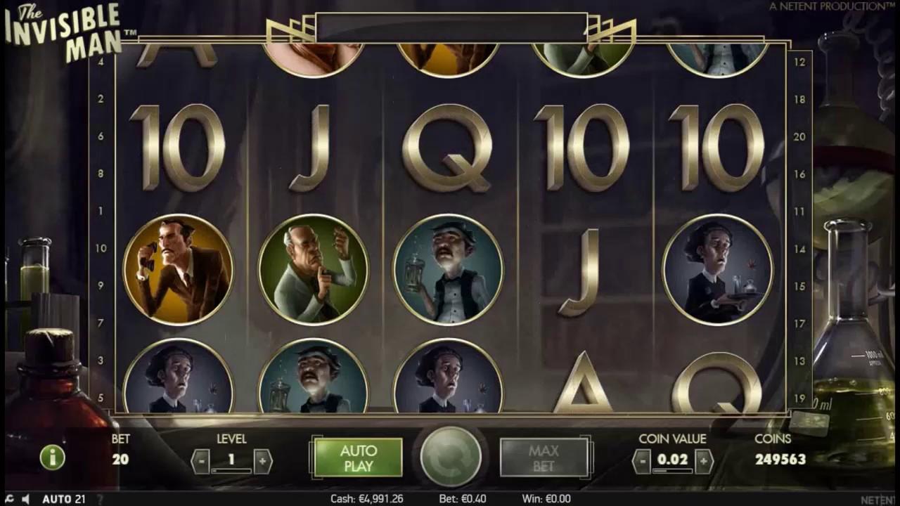 Играйте в автомат The Invisible Man