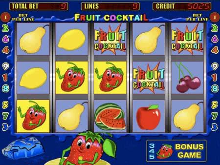 Игровые автоматы Клубнички / Ягодки Fruit Cocktail.