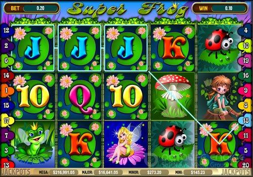 Игровой автомат Лягушки Fairy Land играть бесплатно онлайн -.