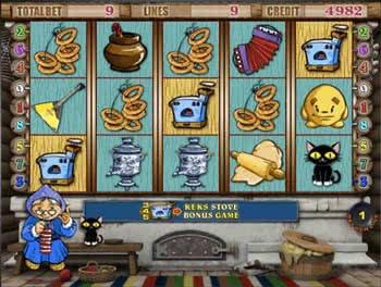 Игровой автомат Keks Колобок - играть онлайн - Slotoking
