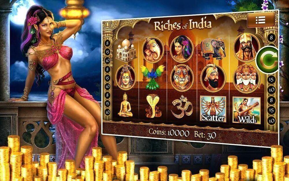 Игровой автомат Богатство Индии Riches of India играть