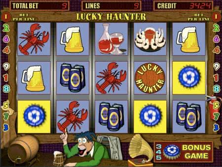 Игровой автомат Lucky Haunter - играть бесплатно, без регистрации