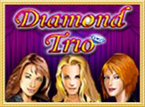 Игровой автомат Алмазное Трио - играть бесплатно и без смс