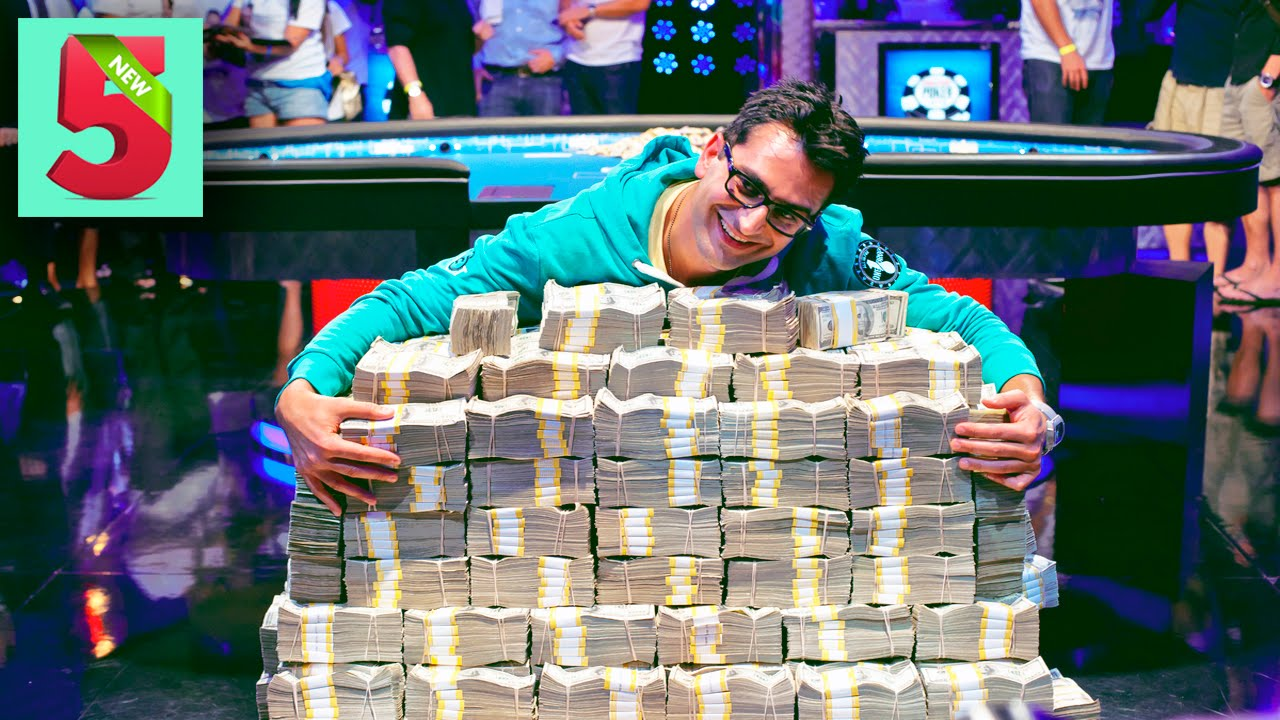 парень выиграл в казино