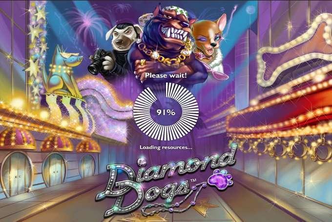 Игровой автомат Diamond Dogs для поклонников разнообразной.