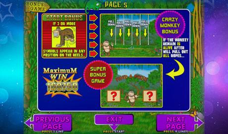 Игровой автомат Crazy Monkey играть на реальные деньги в.