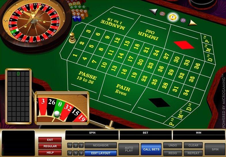 Игровой автомат The French Roulette играть без скачивания в.